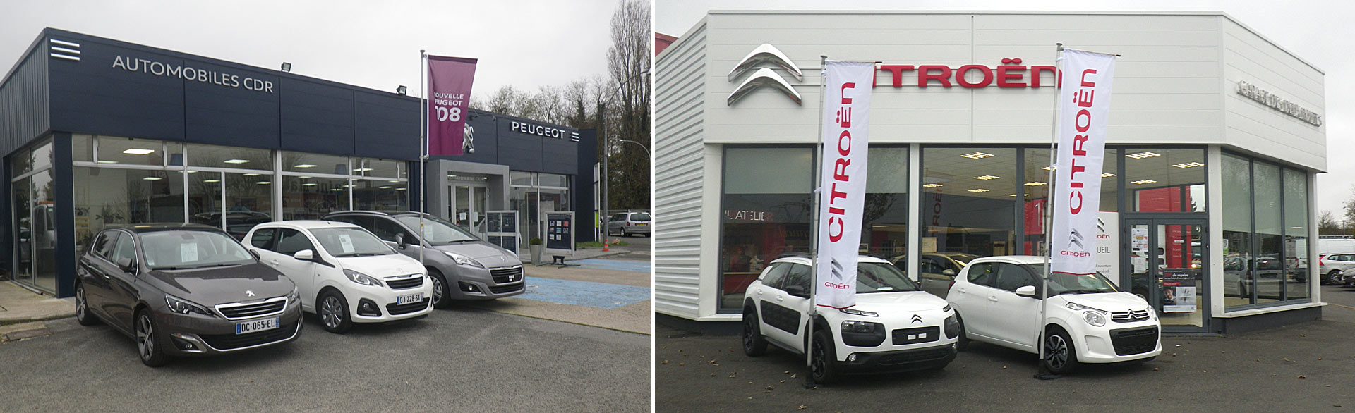 showroom peugeot citroen 43